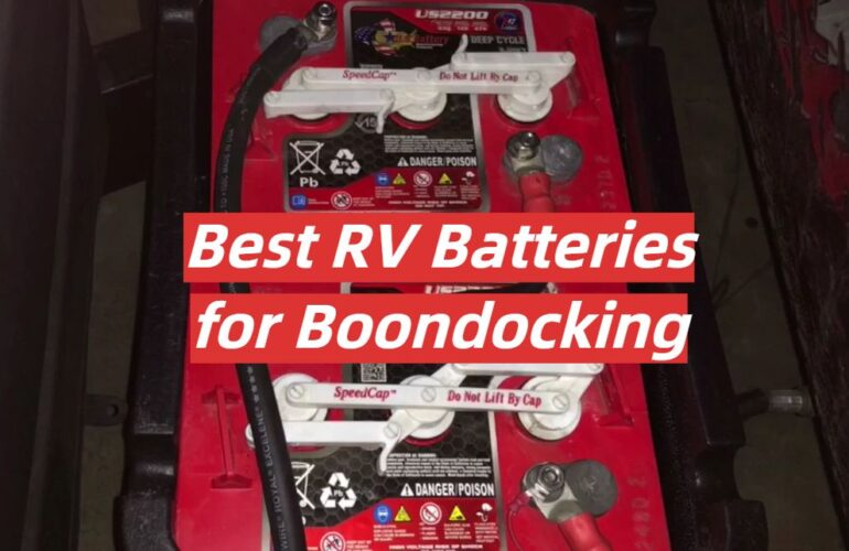 5 Best RV Batteries for Boondocking