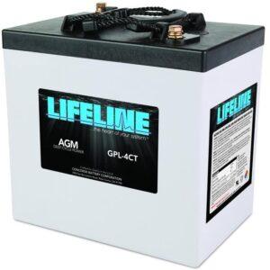 Lifeline GPL-4CT Battery
