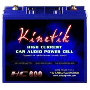 Kinetik HC600 Battery