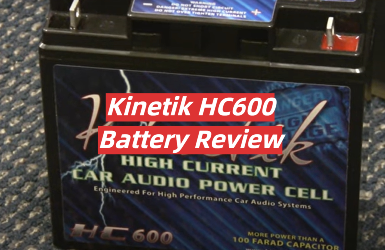 Kinetik HC600 Battery Review