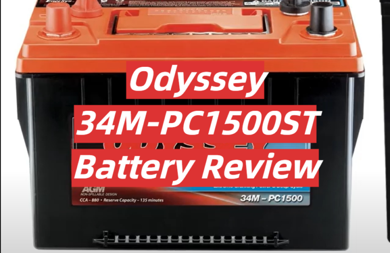 Odyssey 34M-PC1500ST Battery Review