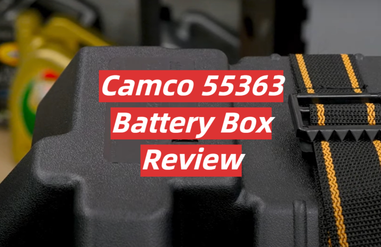 Camco 55363 Battery Box Review