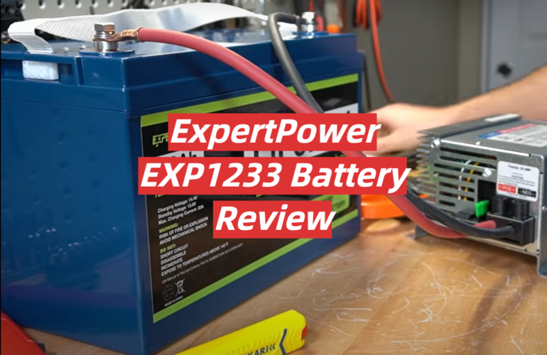 ExpertPower EXP1233 Battery Review